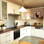 Aufnahme einer Einbauküche