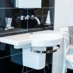 Architekturaufnahme eines Waschbecken im Badezimmer