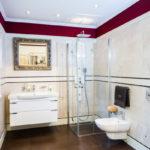 Innenaufnahme eines Badezimmer