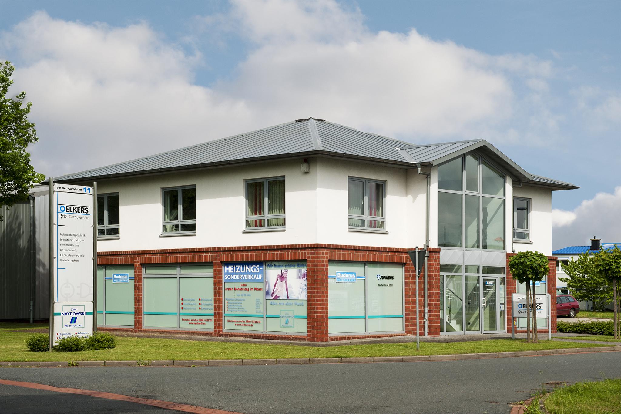 Gebäude der Firma Oelkers in Oyten
