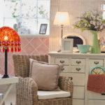 Gemütliches Wohnzimmer im Vintage Stil Stimmungsbild in Langwedel