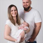 Familienportrait im Studio