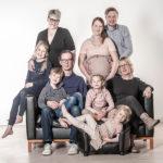 Familienshooting im Studio