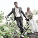 Hochzeitsfotos im Park in Oyten